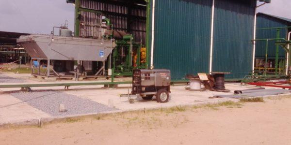 AG Compressor Shelter and Intercooler.
